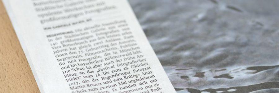 Bericht über das Festival in der Mittelbayerischen Zeitung
